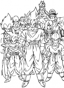 dragon ball para son 8