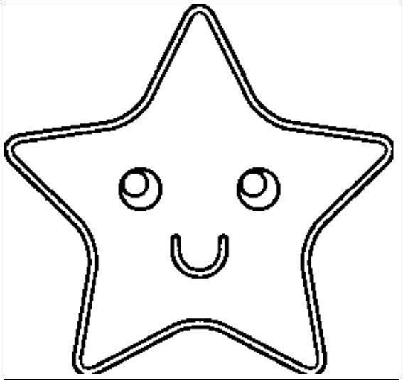 desenho de estrelas para colorir 18